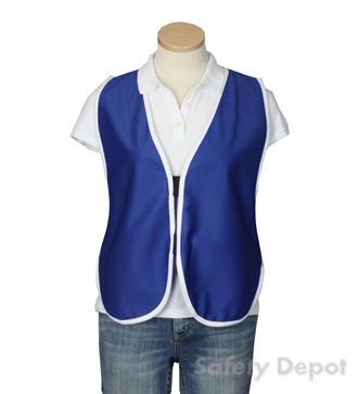 Royal Blue Women's Safety Vest MAIN