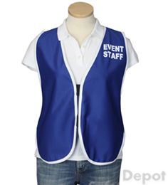 Royal Blue Womens' Event Vest