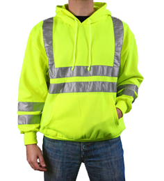 Reflective Northport Safety Hoodie