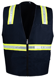 Blue Petite Safety Vest THUMBNAIL