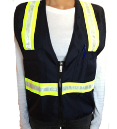 Blue Petite Safety Vest