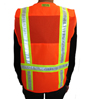 Orange Mesh Petite Safety Vest SWATCH
