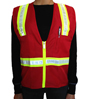 Red Petite safety vest Mini-Thumbnail