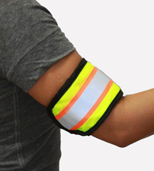 Reflective Yellow Arm Band