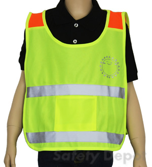 Children's Yellow Reflective Poncho