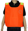 Children's Orange High Vis Safety Poncho_SWATCH