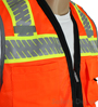 Black Bottom Orange Safety Vest Mini-Thumbnail
