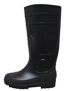 PVC Steel Toe Knee Boots THUMBNAIL