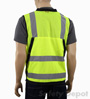 Surveyor lime yellow Safety Vest Mini-Thumbnail