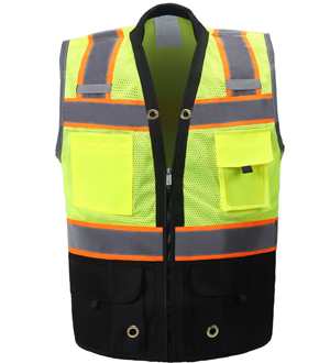 Premium Two Toned Safety Vest_MAIN