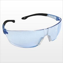 Blue Safety Glasses THUMBNAIL