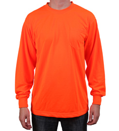 Hi Visibility Orange Long Sleeve