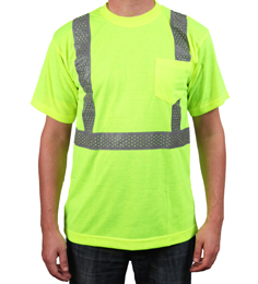 Yellow Reflective T-Shirt