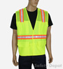 Lime Mesh Velcro Safety Vest Mini-Thumbnail
