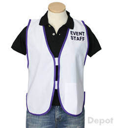 White Womens' Event Vest