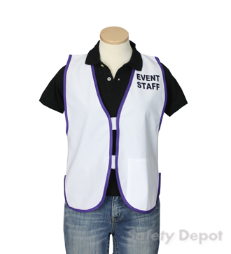 White Womens' Event Vest MAIN