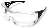 Clear safety eyeglass THUMBNAIL