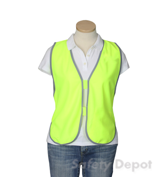 Yellow Safety Womens' Vest MAIN