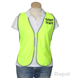 Yellow Womens' Event Vest