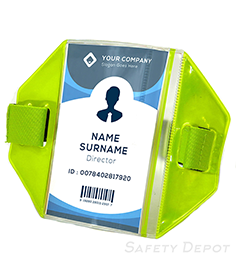 Armband ID Badge Holder THUMBNAIL