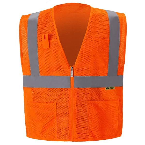 Orange Safety Vest MAIN
