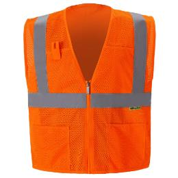 Orange Safety Vest THUMBNAIL