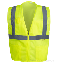 Yellow  Safety Vests Class 2_THUMBNAIL