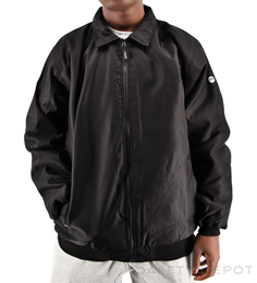 Black Bomber Jacket THUMBNAIL