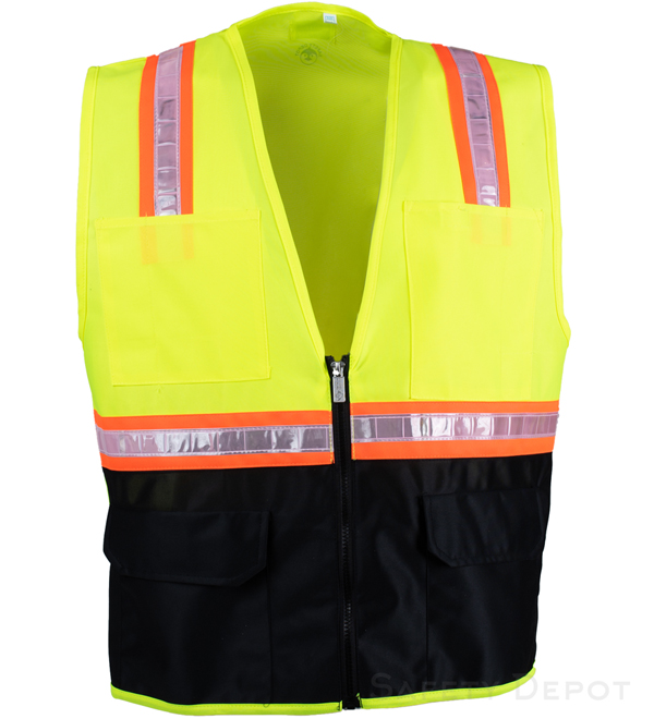 Yellow Vest with Black Bottom MAIN