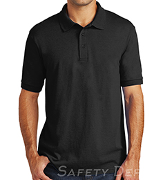 Black Collared Safety Shirt THUMBNAIL