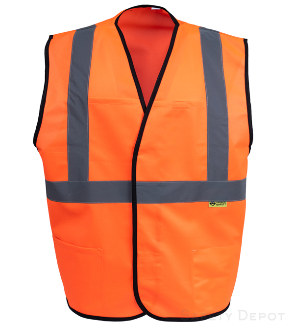 Orange Class 2 Safety Vest_MAIN