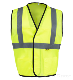 Yellow Safety Vests Class 2 THUMBNAIL