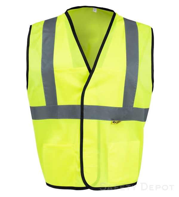 Yellow Safety Vests Class 2 MAIN