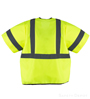 Safety Vest Class 3 Yellow Velcro SWATCH