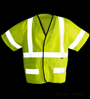 Safety Vest Class 3 Yellow Velcro_SWATCH