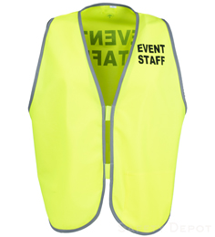 Yellow Womens' Event Vest THUMBNAIL