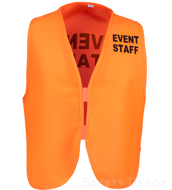 Orange Womens' Event Vest MAIN