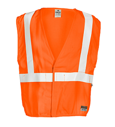 Orange Flame Retardant Vest