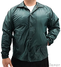 Green Coaches Jacket THUMBNAIL