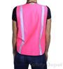 Pink High Visibility Safety Vest_SWATCH