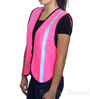 Pink High Visibility Safety Vest Mini-Thumbnail