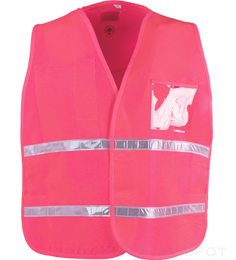 Pink Incident Command Vest THUMBNAIL