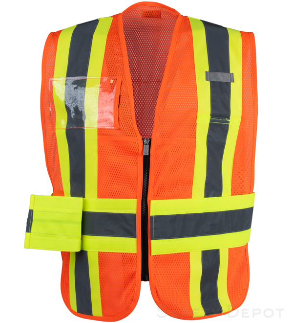 Orange Incident Command Vest MAIN