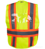 Yellow/Lime Incident Command Vest SWATCH