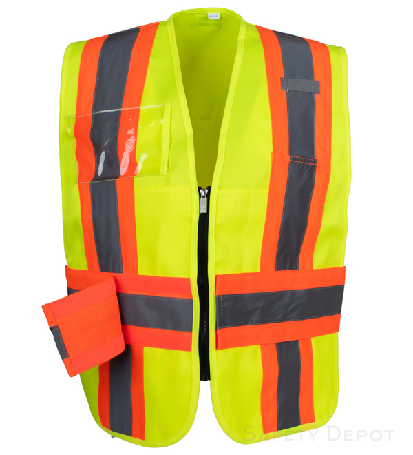 Yellow/Lime Incident Command Vest MAIN