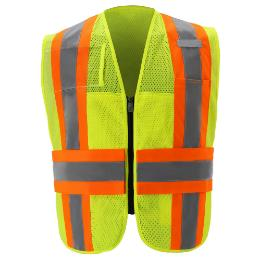 Yellow Incident Command Vest THUMBNAIL