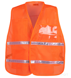 Orange Mesh Incident Command Vest_THUMBNAIL