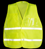 Yellow/Lime Mesh Incident Command Vest SWATCH