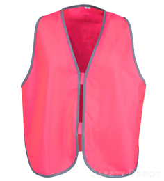 Pink Womens' Safety Vest THUMBNAIL