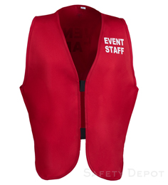 Red Womens' Event Vest THUMBNAIL